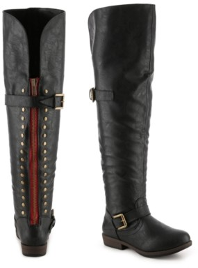 Journee Collection Kane Wide Calf Over The Knee Boot