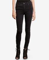 Lauren Ralph Lauren Zip-Cuff Skinny Jeans