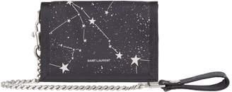 Saint Laurent Constellation Chain Wallet