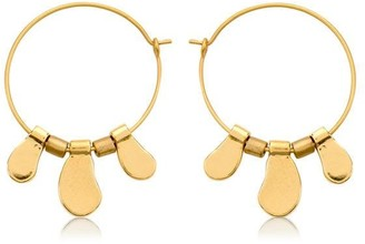 Dansk Smykkekunst Alina Organic Hoop Earrings