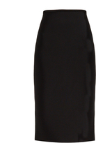Roland Mouret May double-faced stretch-knit skirt