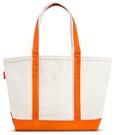 CB Station Women's Heavyweight Cotton Canvas Tote Handbag with Zipper Closure Medium