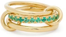 Spinelli Kilcollin Petunia Emerald & 18kt Gold Ring - Emerald