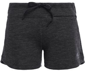 adidas Melange Cotton-blend Jersey Shorts