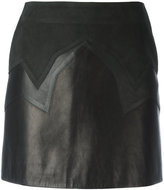 Black Leather Mini Skirt - ShopStyle