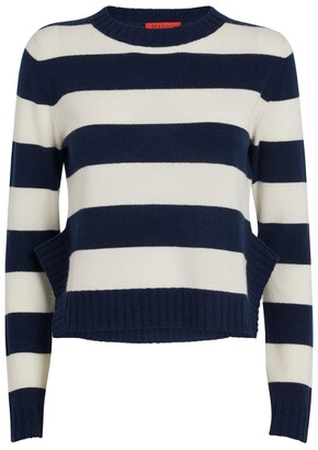Max & Co. Wool-Cashmere Striped Sweater