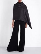 Gareth Pugh Asymmetric leather cape