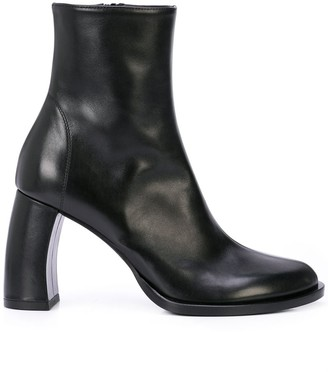 Ann Demeulemeester Zipped Ankle Boots