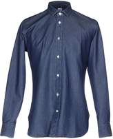 DANOLIS Denim shirts - Item 42594115