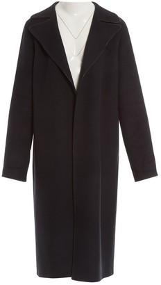 Loewe Navy Wool Coat for Women