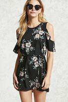 Forever 21 FOREVER 21+ Open-Shoulder Floral Dress