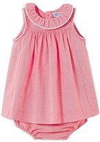 Jacadi Girls' Gingham Print Dress & Bloomers Set - Baby