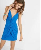 Express knot front cami dress