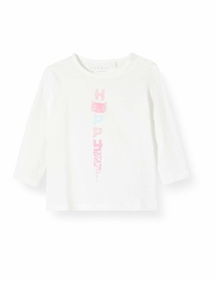Esprit Baby Girls' Rq1000112 T-Shirt Ls Long Sleeve Top
