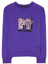 Marc Jacobs Sequinned cotton sweatshirt