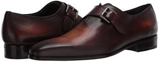 Massimo Matteo Almansa Single Monk (Castano) Men's Shoes