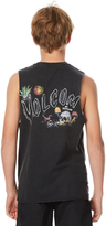 Volcom Boys No Vacancy Muscle Black