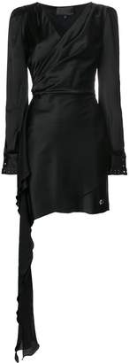 Philipp Plein Stylish wrap dress