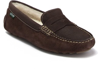 Eastland Patricia Suede Faux Fur Penny Loafer