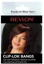 REVLON Ready-to-Wear Hair Revlon Ready to Wear Hair Clip-Lok Bangs