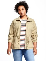 Old Navy Plus-Size Twill Utility Jacket
