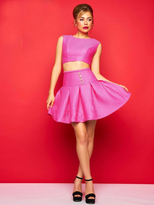 Mac Duggal Evening Gowns - 30353 C Sleeveless Dress In Hot Pink