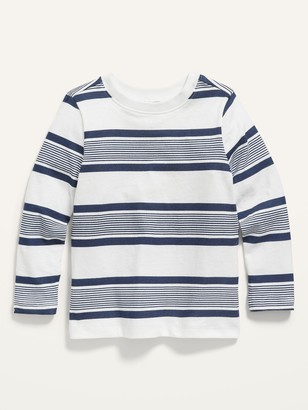 Old Navy Long-Sleeve Striped Tee for Toddler Boys