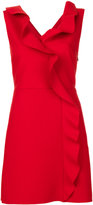 MSGM ruffle trim sleeveless dress - women - Polyester/Spandex/Elastane/Viscose - 40