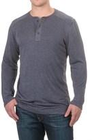 32 Degrees Midweight Heat Henley Shirt - Long Sleeve (For Men)