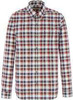 Gibson Brown And Red Check Shirt