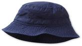 Petit Bateau Baby boy bucket hat in plain serge