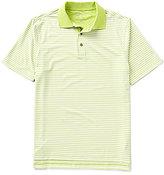 Bobby Jones Golf XH20 Frame Stripe Short-Sleeve Polo Shirt