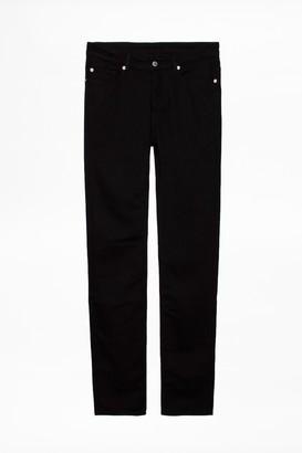 Zadig & Voltaire David Black Jeans