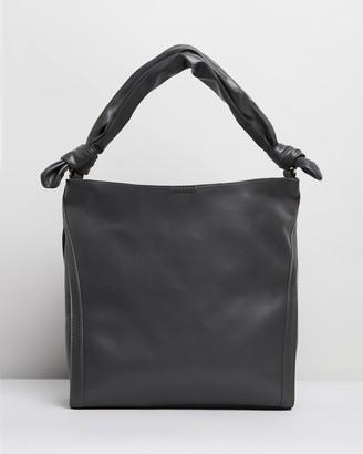 Topshop Helen Ruched Hobo Bag