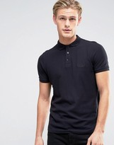Firetrap Oil Washed Polo Shirt