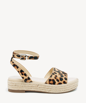 Sole Society Women's Verla Flatform Sandals Lt Nat/multi Size 5 VACHETTA From