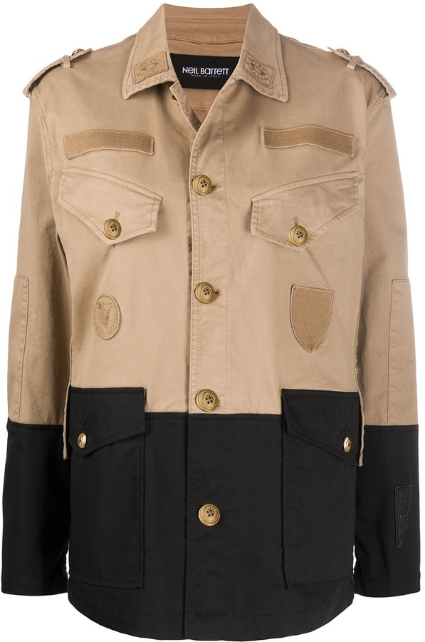 Neil Barrett Pocket Detail Military Jacket