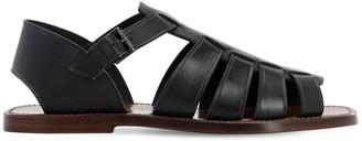 Silvano Sassetti 15mm Leather Sandals