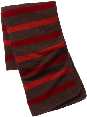 Portolano Minerva Striped Bed Throw