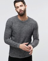 ONLY & SONS Salt & Pepper Knitted Sweater