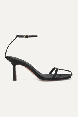 Neous Kia Grosgrain Sandals - Black