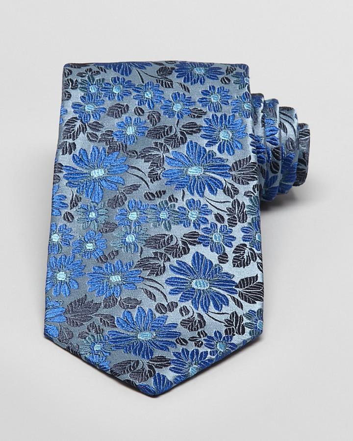 Duchamp Agape Floral Classic Tie