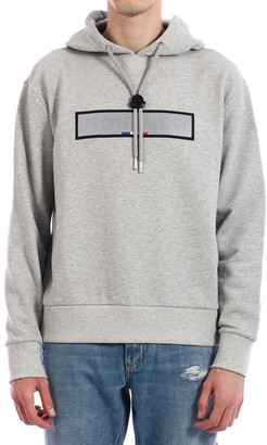 Moncler Department Hoodie Gray