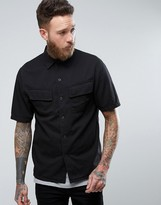 Nudie Jeans Co Svante Short Sleeve Pocket Shirt