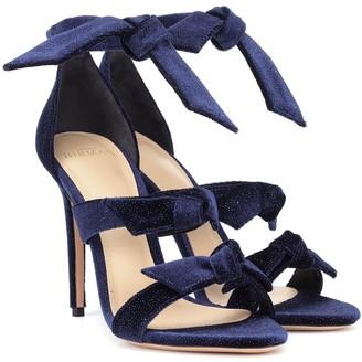 Alexandre Birman Lolita velvet sandals