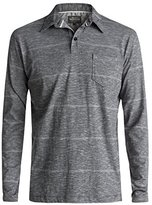 Quiksilver Waterman Men's Home Team Long Sleeve Polo Shirt