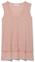 Vince Camuto Two By Mixed-media Layered Tank