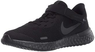 Nike Kids SINGLE SHOE - FlyEase Revolution 5 (Big Kid) (Black/Black/Anthracite) Kid's Shoes