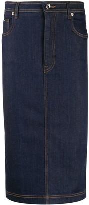 Dolce & Gabbana Denim Pencil Skirt