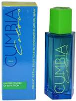 Benetton Cumbia Colors for Men-3.3-Ounce EDT Spray